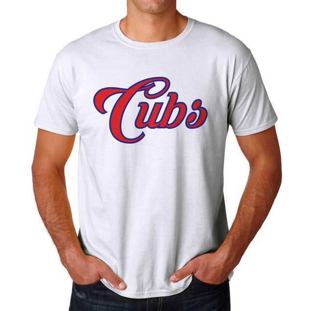 Cubs Men's White T-shirt