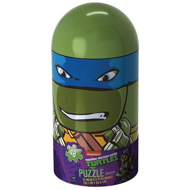 Teenage Mutant Ninja Turtle Capsule 48 Piece Puzzle, More Puzzles by Cardin