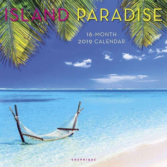 Island Paradise Wall Calendar, Beaches by Calendars