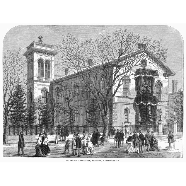 Peabody Institute Library. /Nthe Peabody Institute Library, Founded In 1852