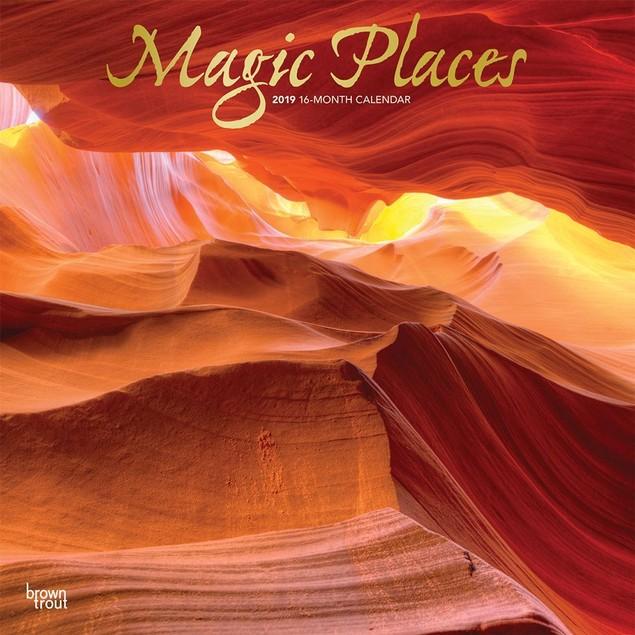 Magic Places Wall Calendar, Nature by Calendars
