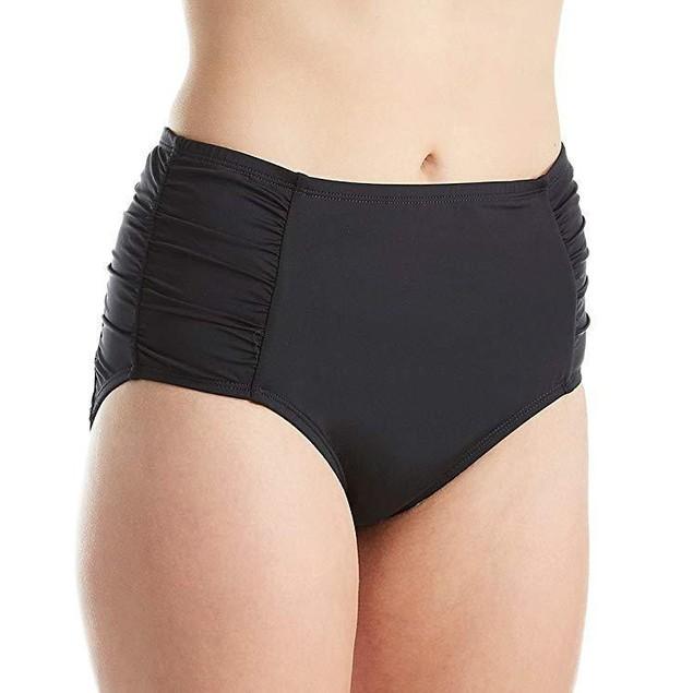 Jantzen Women's Plus Size Solids High Waist Bottom SZL 16W