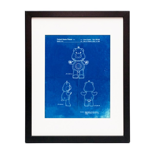 Sunshine Care Bear Patent Poster
