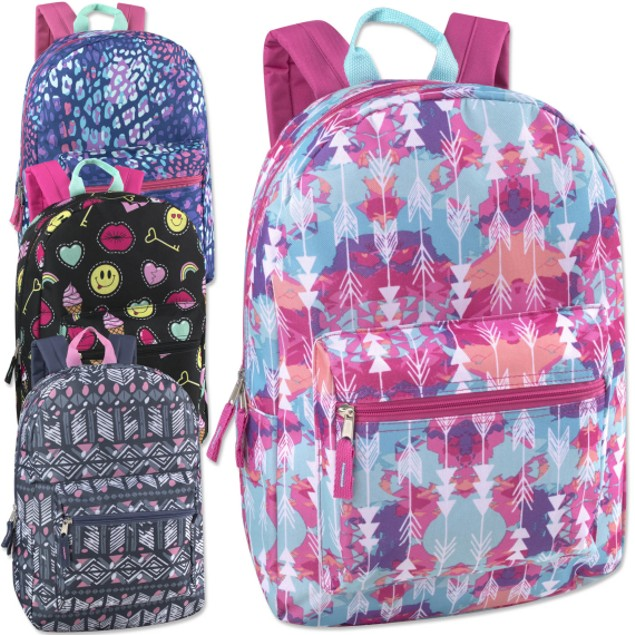 Trailmaker Girls Printed Backpack
