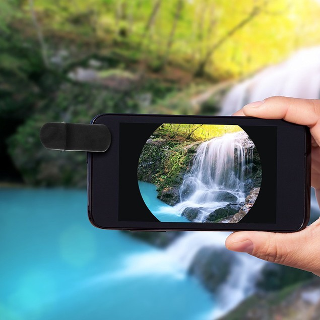 KOBRA Universal 2-in-1 Fish-Eye-Lens Kit for iPhone and Android