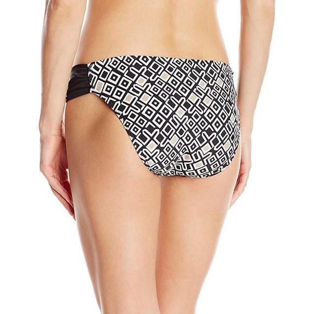 Athena Women's Gold Coast Tab Bikini Bottom, Black, 6