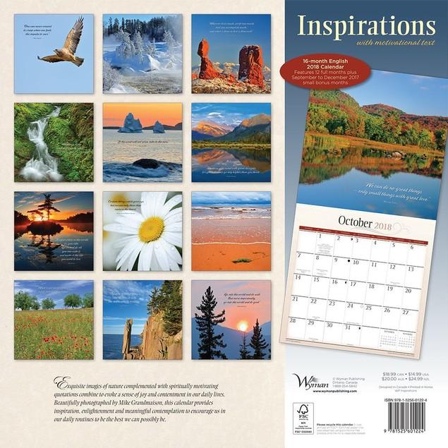 Inspirations Wall Calendar, More Inspiration by Calendars