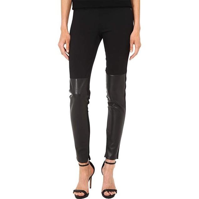 Neil Barrett Women's Stitched Darts Leggings Black 42 X 30