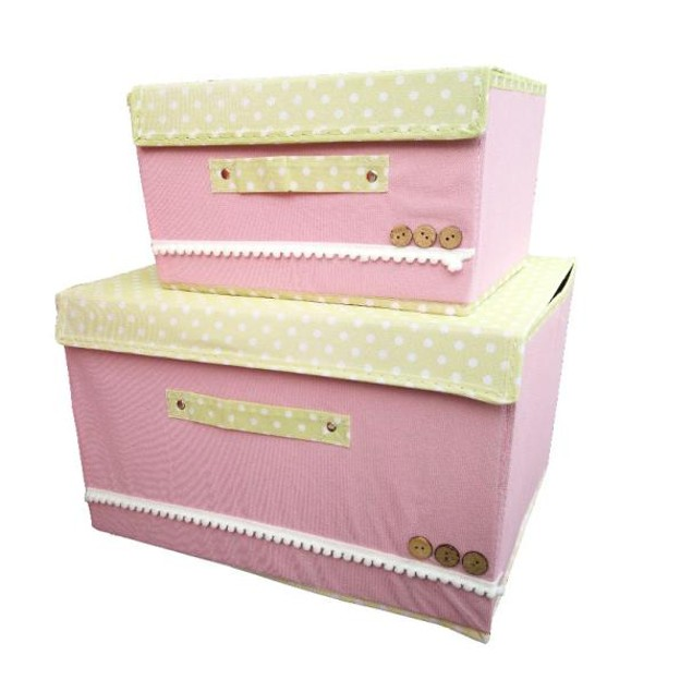 2-Piece Storage Boxes Set