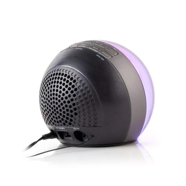 Bluetooth Color Changing Dual Alarm Clock FM Radio