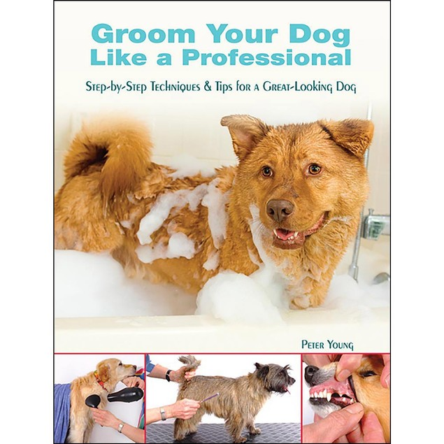 Groom Your Dog Like a Professional Book, Assorted Dogs by TFH Publications