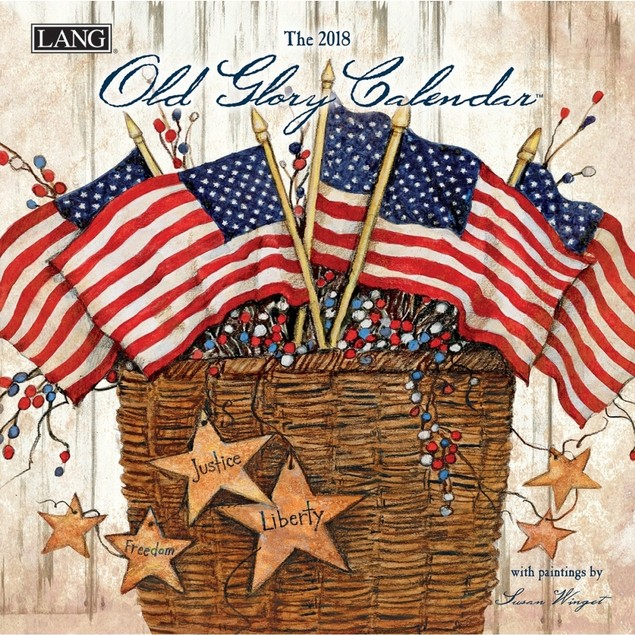 Old Glory Mini Wall Calendar, Susan Winget by Calendars