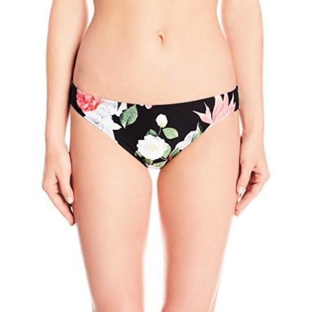 Vince Camuto Women's Tropical Classic Bikini Bottom, Black SIZE SMALL