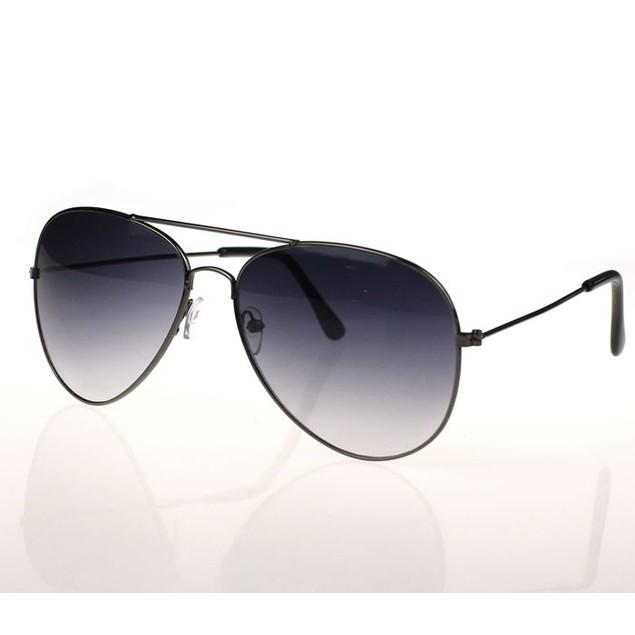 Classic Metal Designer Sunglasses