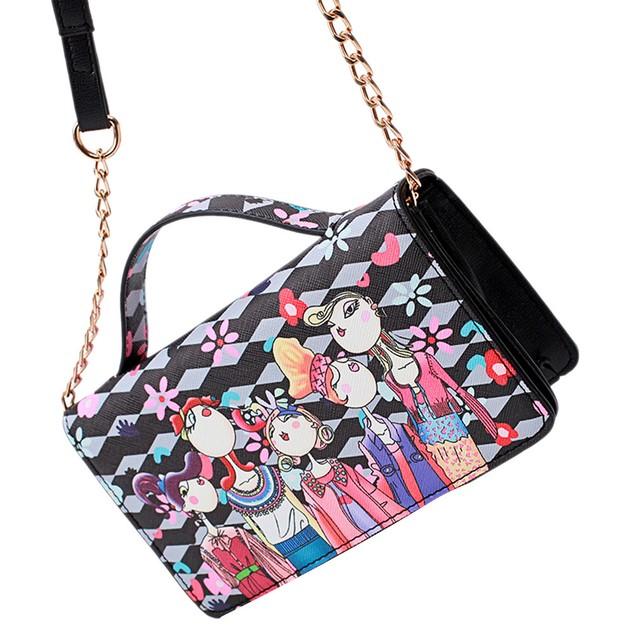Women Ladies Messenger Shoulder Bag Clutches Chain Crossbody Bags Tote