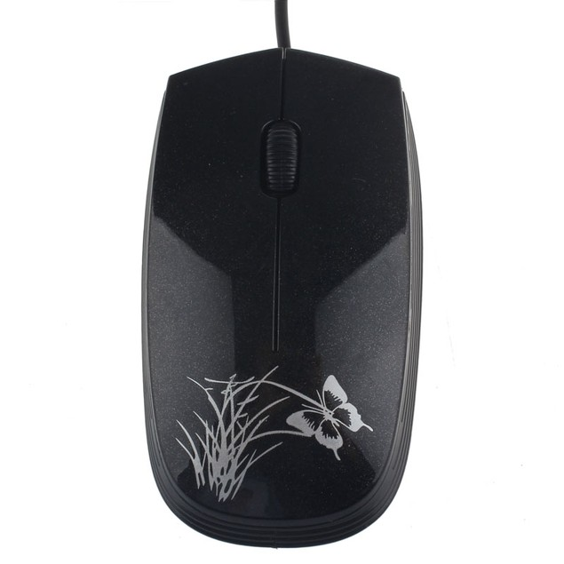 USB 2.0 Wired Mini Optical LED Mouse For PC and Laptop Computers