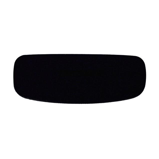 Converse Mens Ophthalmic Eyeglass Black Rectangle Metal Frame Q017 50