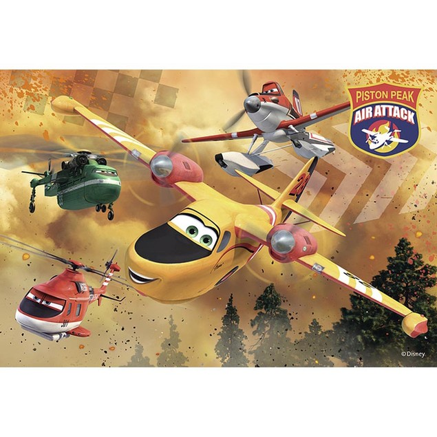 Disney Planes 2 Always in Action 24 Piece Puzzle 2-Pack, More Puzzles by Ra