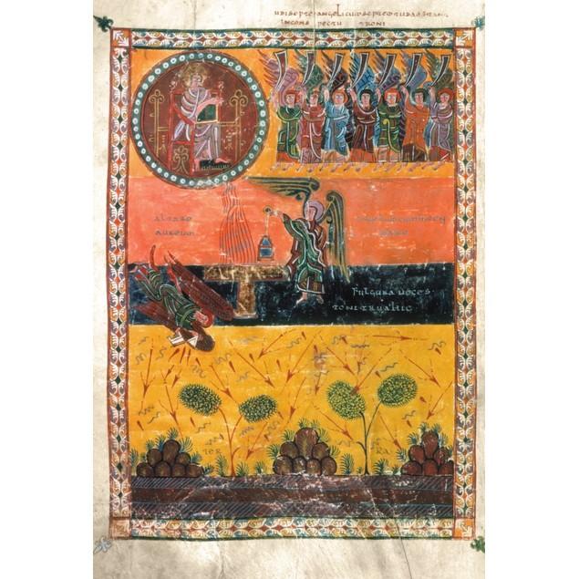 End Of The World. /Nangels Destroying The World (Rev. 8:2-5): Spanish Ms. I