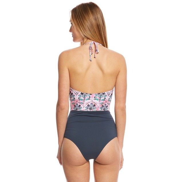 O'Neill Women's Starlis One Piece Swimsuit, Multi Color, SIZE LARGE