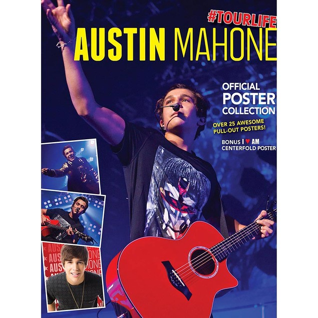 Austin Mahone 2nd Edition Poster Book, Rap | Pop by BrownTrout