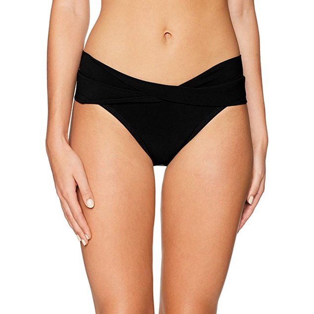 NIKE NESS8202 Women's Solid Element Swim Boardshort, Black - Large