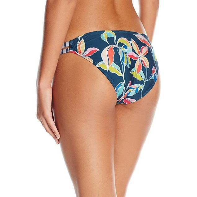 Splendid Women's Tropical Traveler Strap Pant Bikini Bottom, Multi, SZ