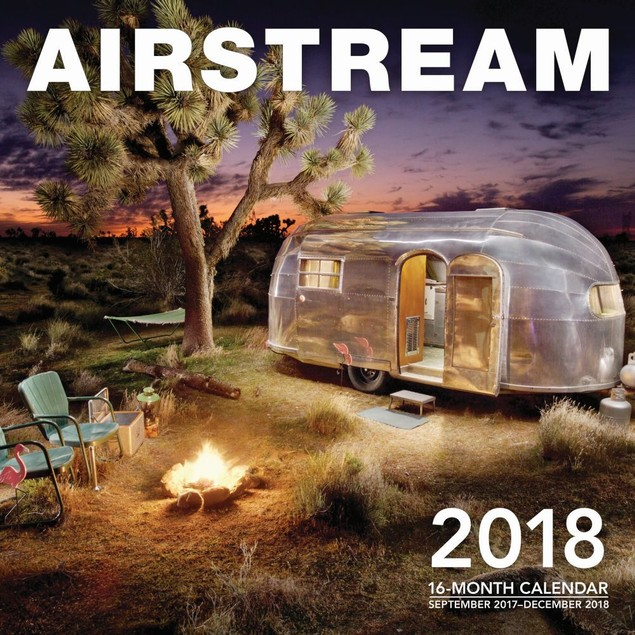 Airstream Wall Calendar, Classic Car by Calendars