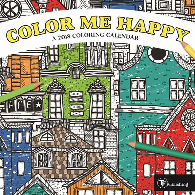 Color Me Happy Mini Wall Calendar, Modern | Pop Art by Calendars