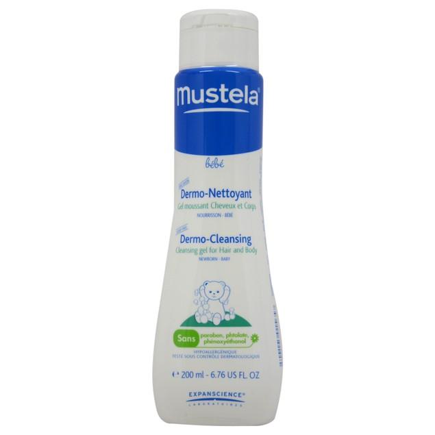 Dermo Cleans.Gel Hair&Body Mustela Kids 6.76oz