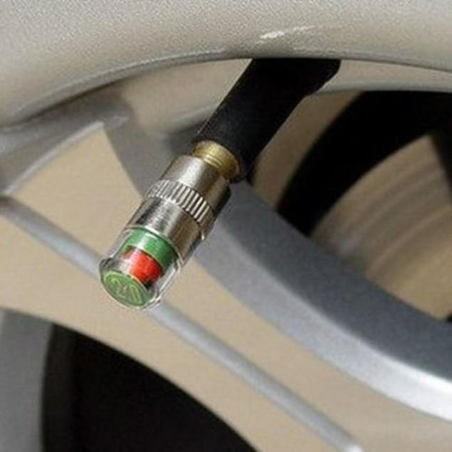 Tire Pressure Valve Caps (4-Pack)