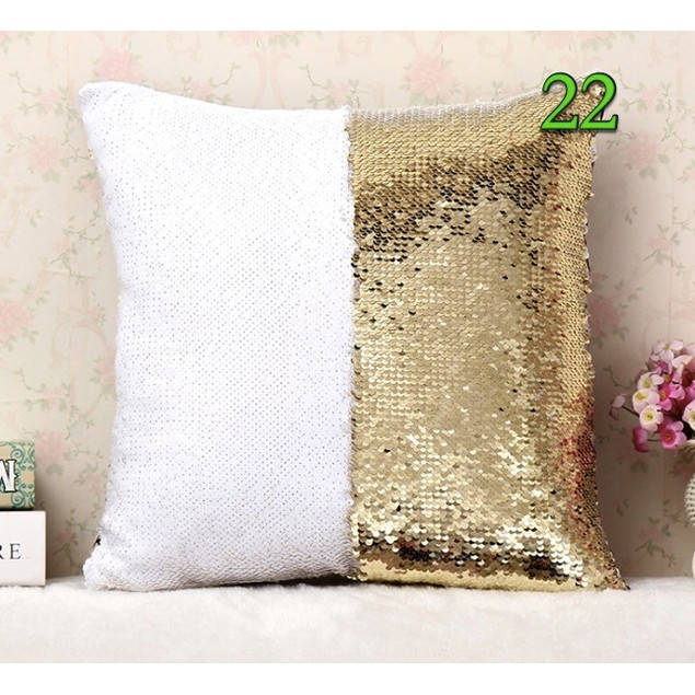 Sequined Cushion Throw Pillow Case Cover(#21-37)