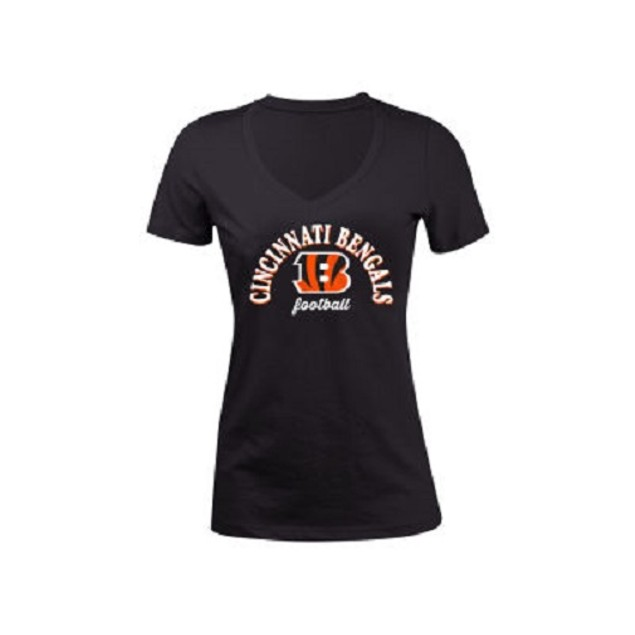 Cincinnati Bengals NFL Women's Checkdown T-Shirt