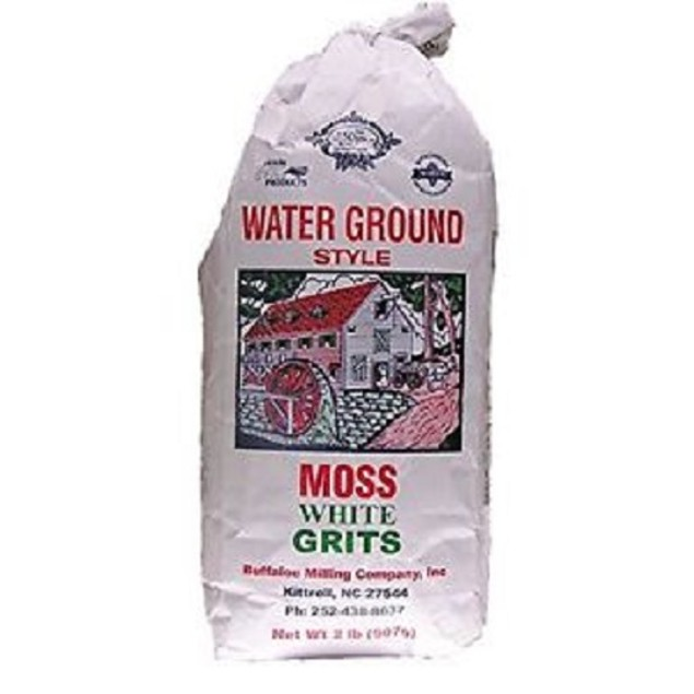 Moss Water Ground Style White Grits