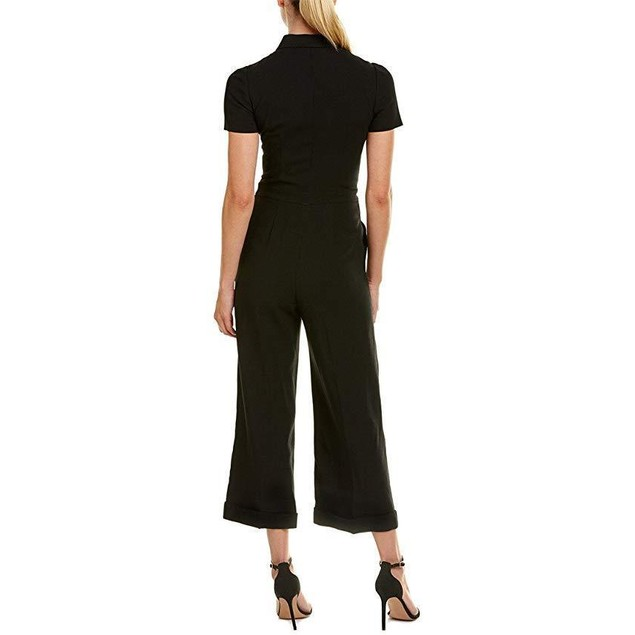 RED VALENTINO Women's Tuta Jumpsuit Nero 38 (US 0)