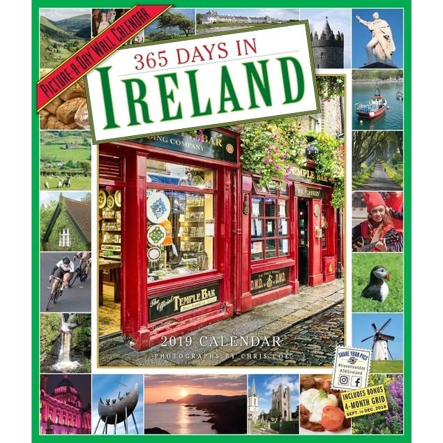 365 Days of Ireland Wall Calendar, Ireland by Calendars