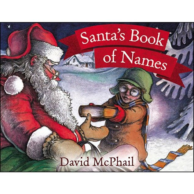 Santa's Book of Names, Christmas Books by Little Brown and Company
