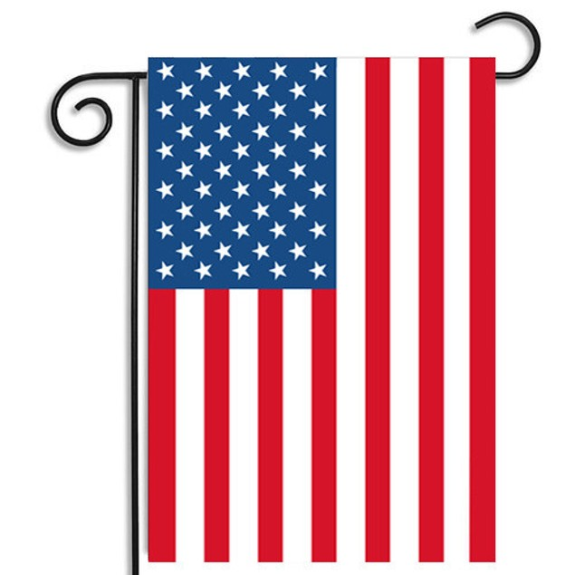 Garden Flag Red White And Blue American Flag