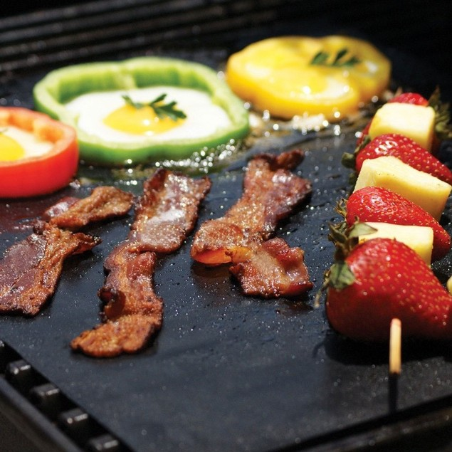 2 Pack: BBQ Grilling Mats - As Seen On TV