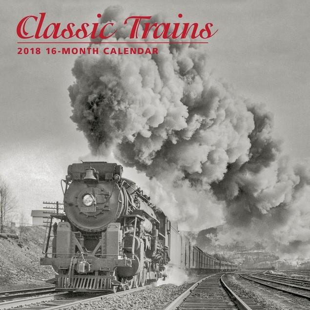 Trains Classic Wall Calendar, Trains by Calendars
