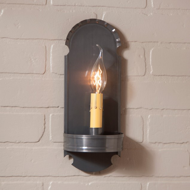 Foot Sconce In Country Tin Wall Sconces