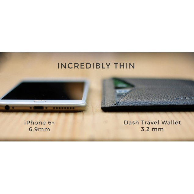 Dash Co. Travel Passport Wallet