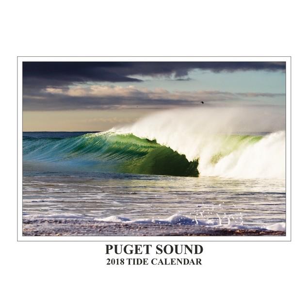 Puget Sound Tide Wall Calendar, Seattle by Tidelines