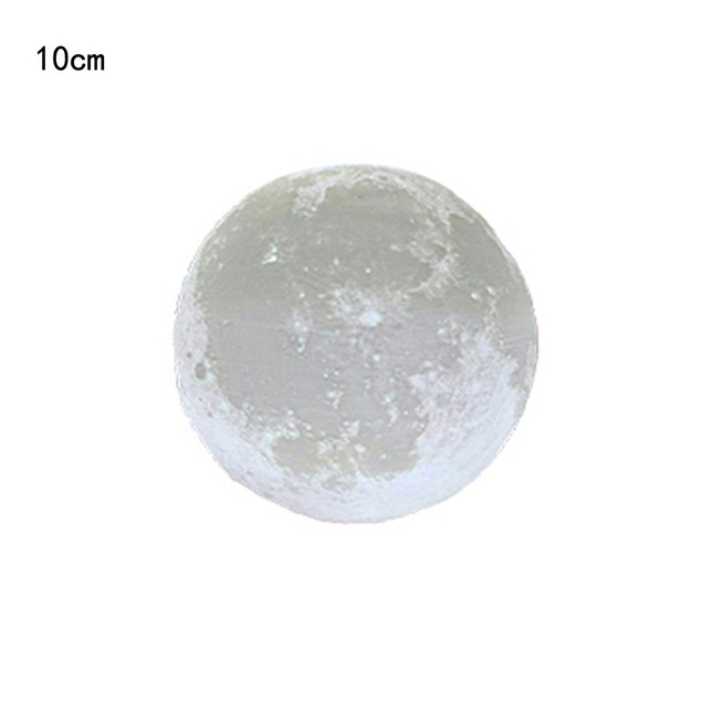 3D USB Hand Shot Lights Moon Night Light Moonlight Table Desk Moon Lamp