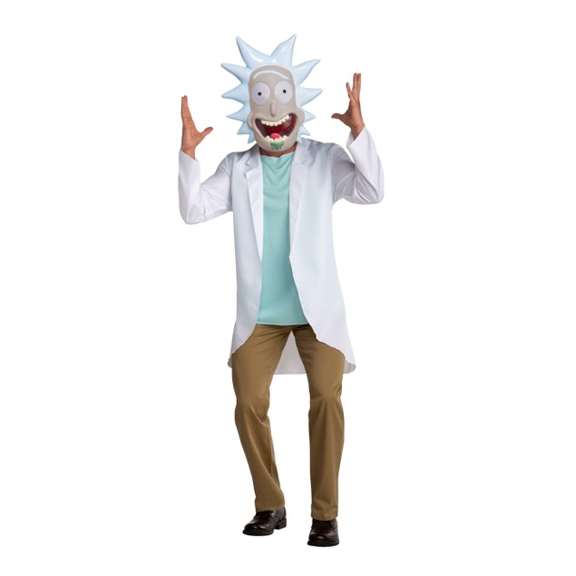 Rick Sanchez Rick And Morty Adult Costume