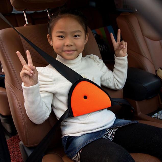 Children Car Safety Cover Strap Adjuster Pad Harness Seat Belt Clip OR