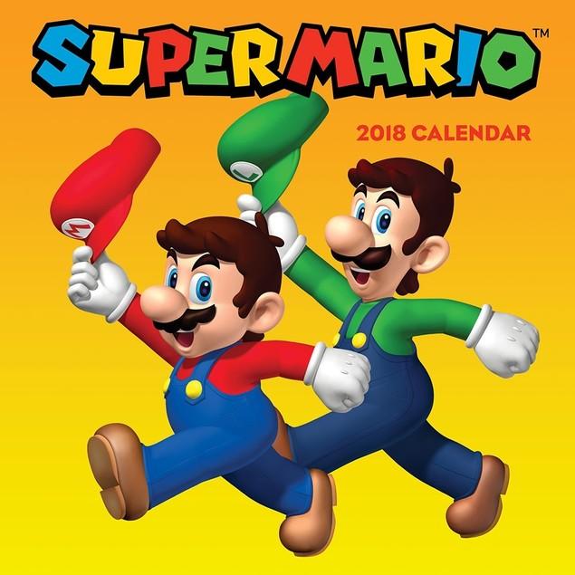 Super Mario™ 2018 Wall Calendar