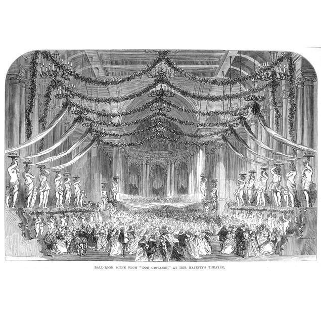Opera: Don Giovanni, 1867. /Nballroom Scene From An 1867 Production Of Moza