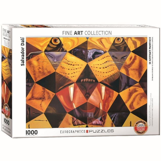 Dalififty Abstract Paintings 1000 Piece Puzzle, 1,000 Piece Puzzles by Euro