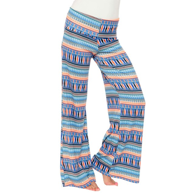 Multi Tribal Printed Palazzo Pants